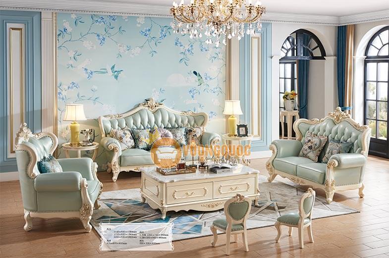 Sự đa dạng các dòng sản phẩm nội thất phòng khách sang trọng