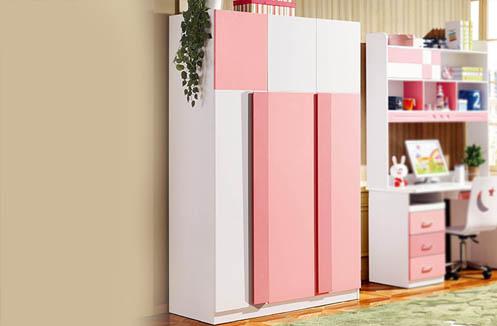 Tủ quần áo cho bé gái phong cách Hàn Quốc cao cấp