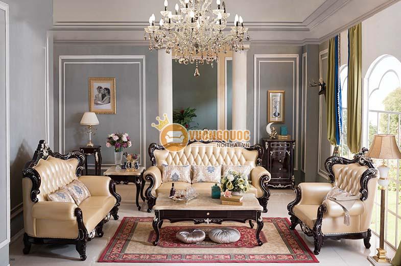 Chọn mẫu nội thất mang vẻ ngoài cầu kỳ, hoa mỹ