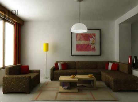 Màu sắc nội thất không hài hòa với sơn tường