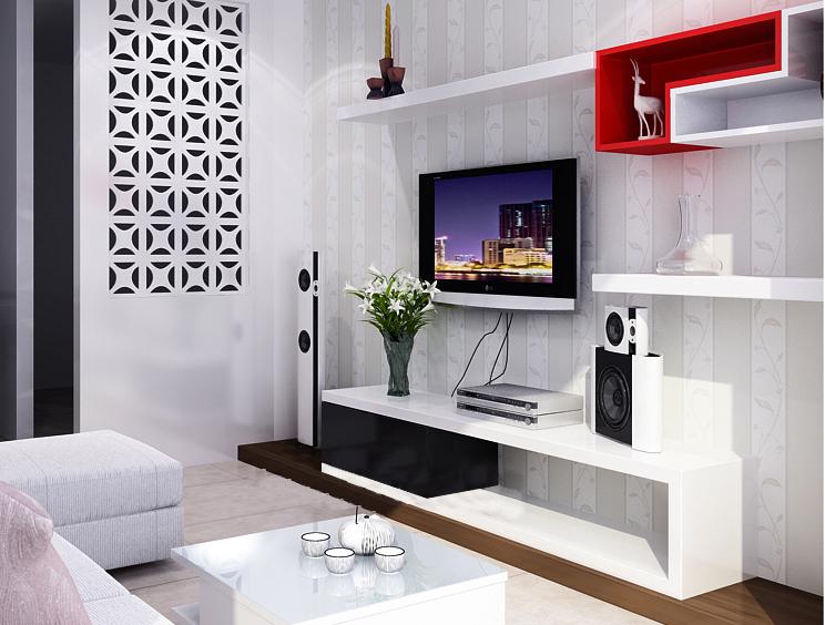 Mức tiêu thụ kệ tivi hiện đại tại thị trường Hà Nội