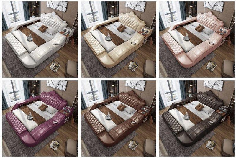Sức hút của các bộ giường ngủ massage trong năm nay
