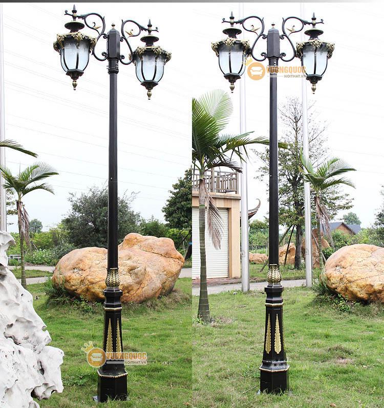 Trang trí bằng đèn sân vườn
