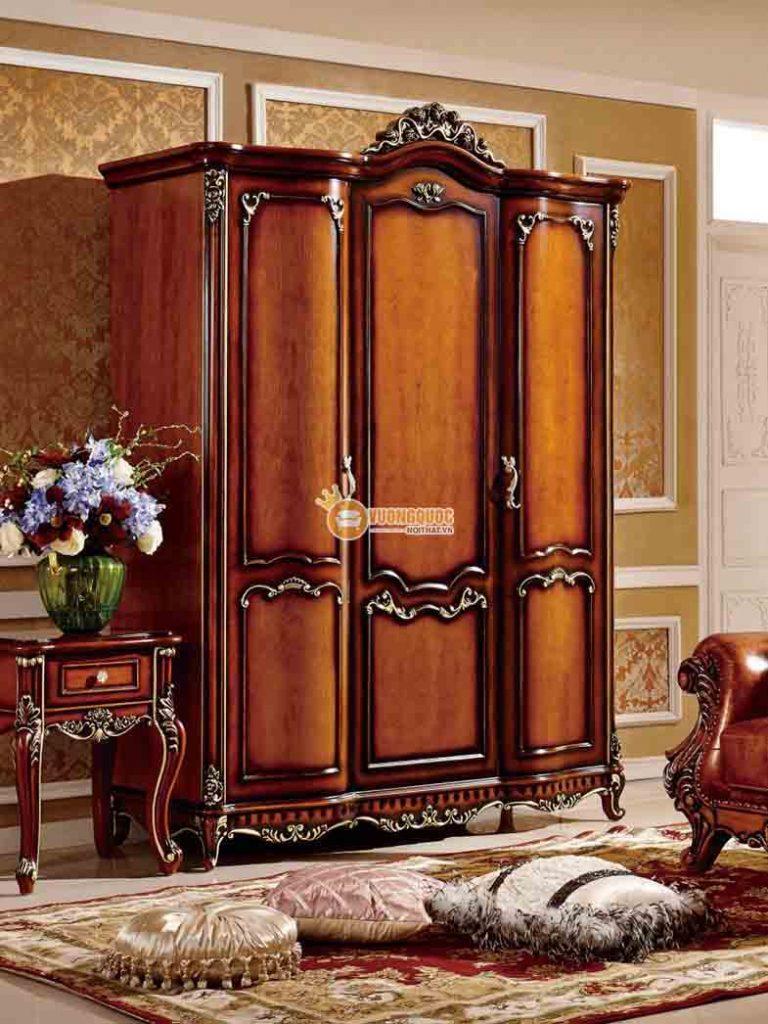 Vẻ đẹp đến từ các mẫu tủ quần áo gỗ cao cấp