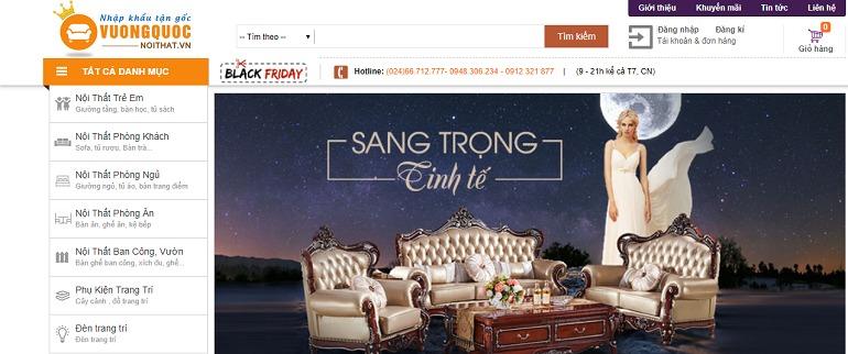 Vương quốc nội thất – Showroom bán kệ tivi hiện đại số 1 tại Hà Nội