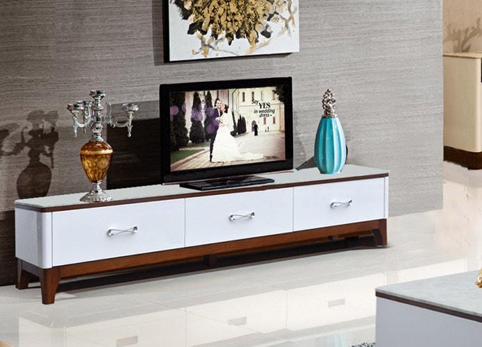 Chỉ chọn mẫu kệ tivi hiện đại có màu sắc trang nhã