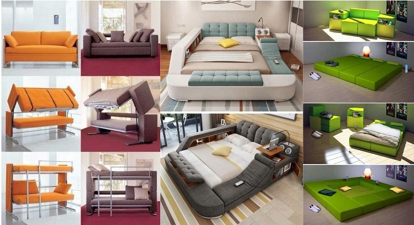 Giường ngủ hiện đại đa năng một xu hướng nội thất mới