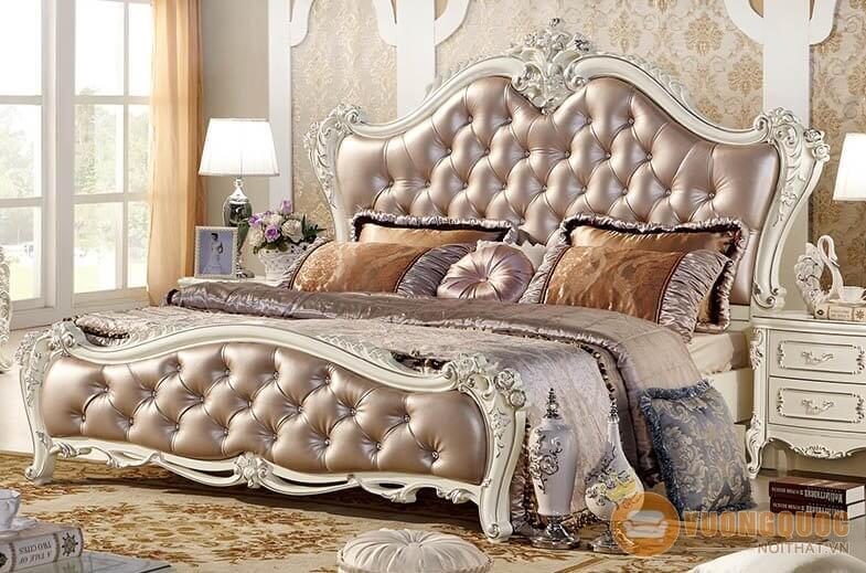 Giường ngủ kiểu Pháp lãng mạn