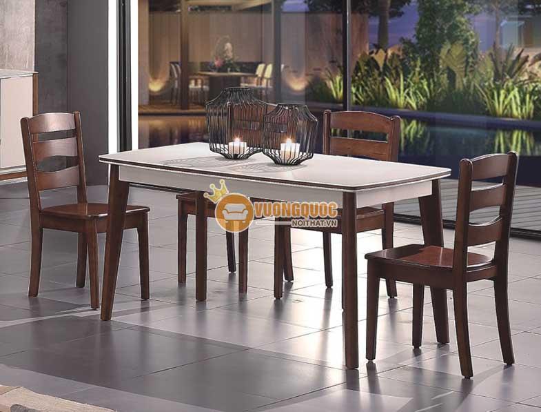 Kiểu dáng bàn ăn gỗ công nghiệp phong phú