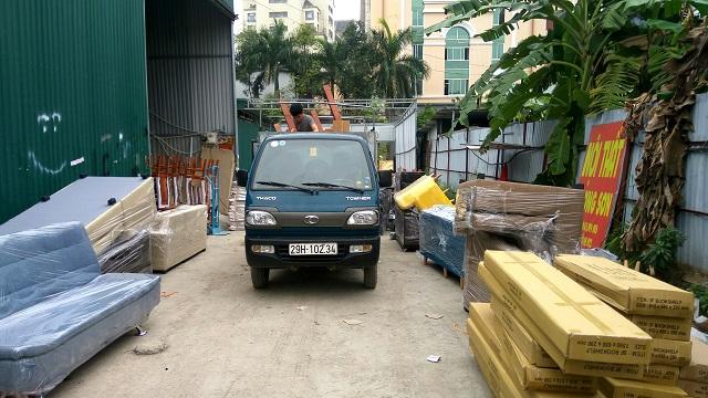 Khách hàng mua nội thất cho trường học tại Lương Sơn được miễn phí vận chuyển
