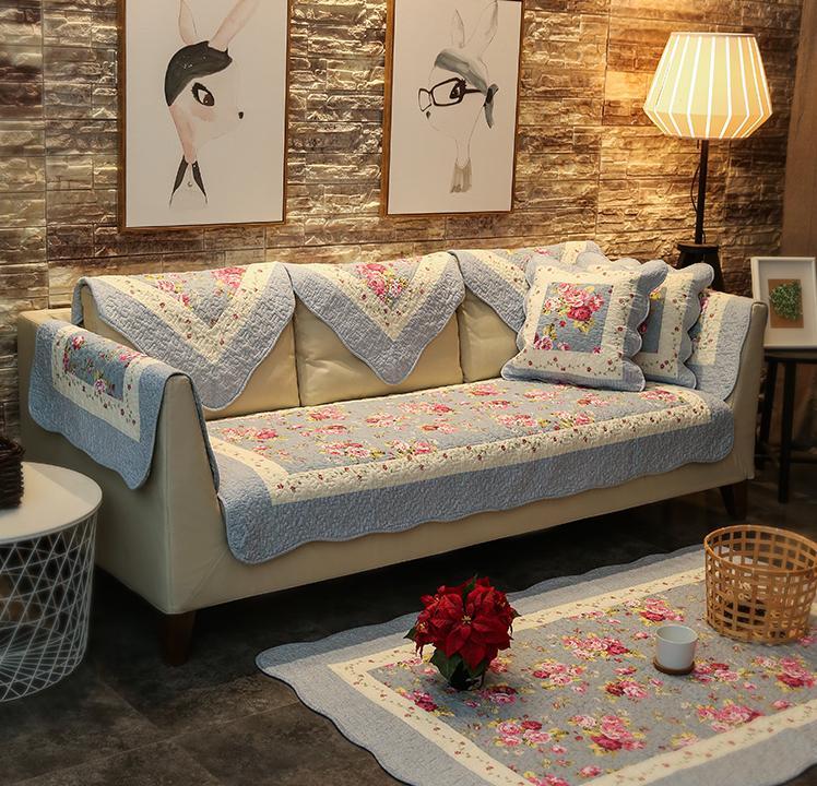 Thảm trải ghế sofa cotton Hàn Quốc