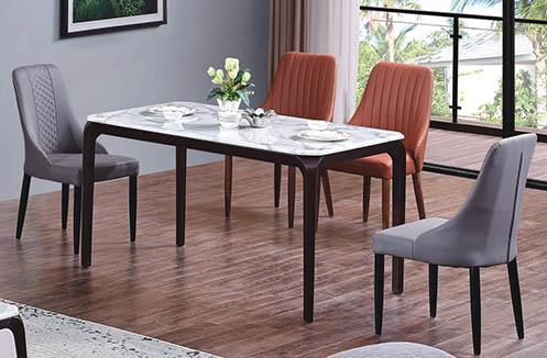 Bộ bàn ghế ăn gỗ phong cách Nhật