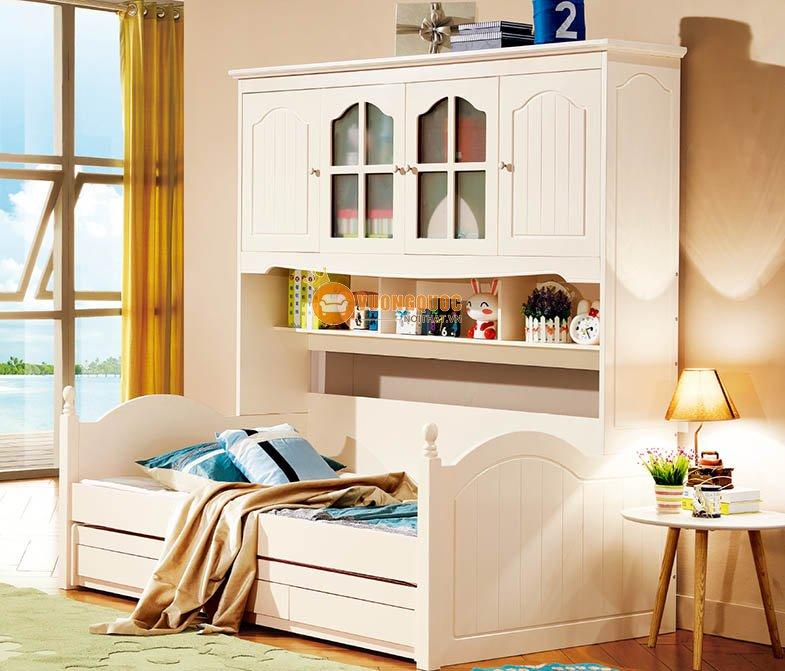Giường 2 tầng thấp cho bé yêu LSL0708