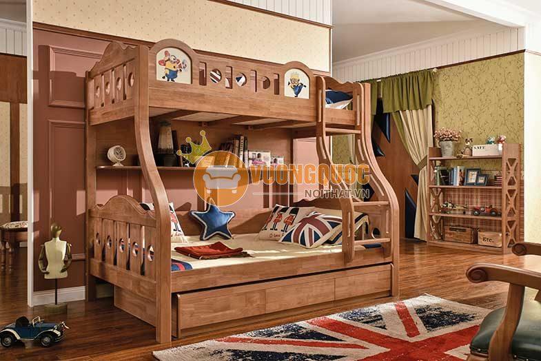 Giường tầng cho bé trai nhập khẩu JYC16