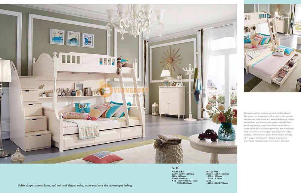 Giường tầng đa năng tiện nghi JYA10