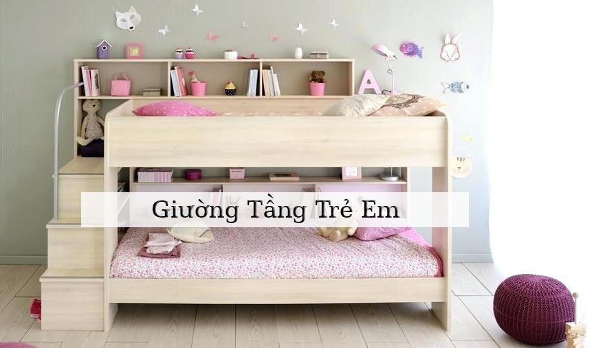 Nên mua giường tầng trẻ em tại TPHCM ở đâu?